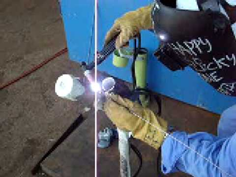 TIG WELDING ON STAINLESS STEEL - WQT 6G - Heats School of Welding ...