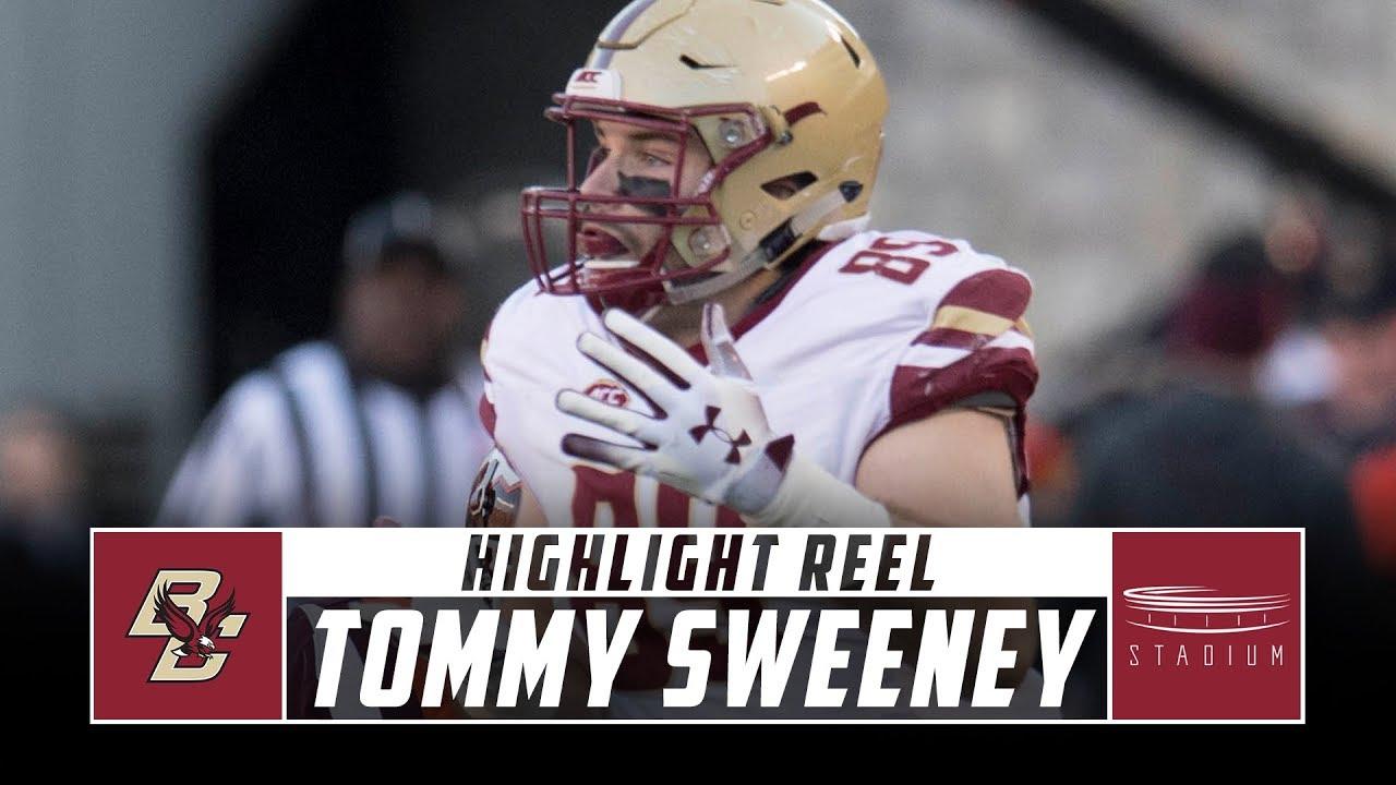 size 40 e41b1 4f167 Tommy Sweeney Boston College Football Highlights - 2018 Season | Stadium