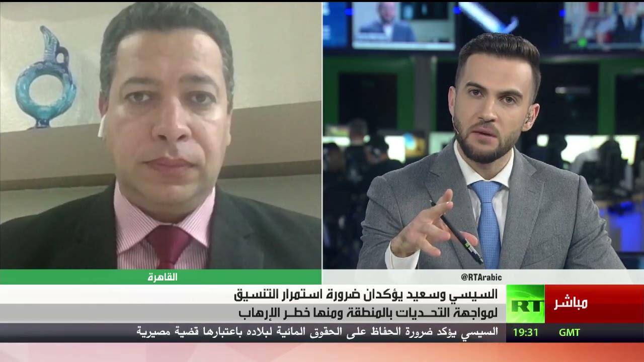السيسي يؤكد ضرورة الحفاظ على الحقوق المائية لمصر - تعليق أكرم حسام  - نشر قبل 5 ساعة