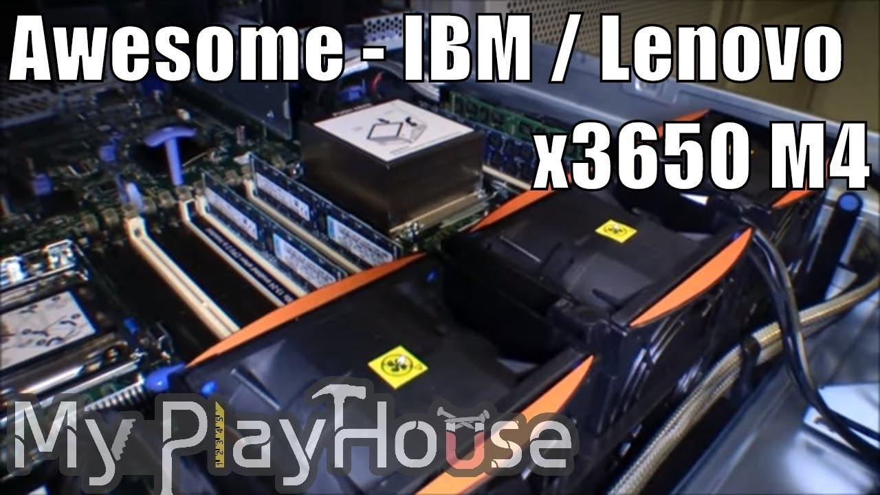 Ibm X3650 M4 Upgrade Cpu Ram And Ssd 079 Youtube