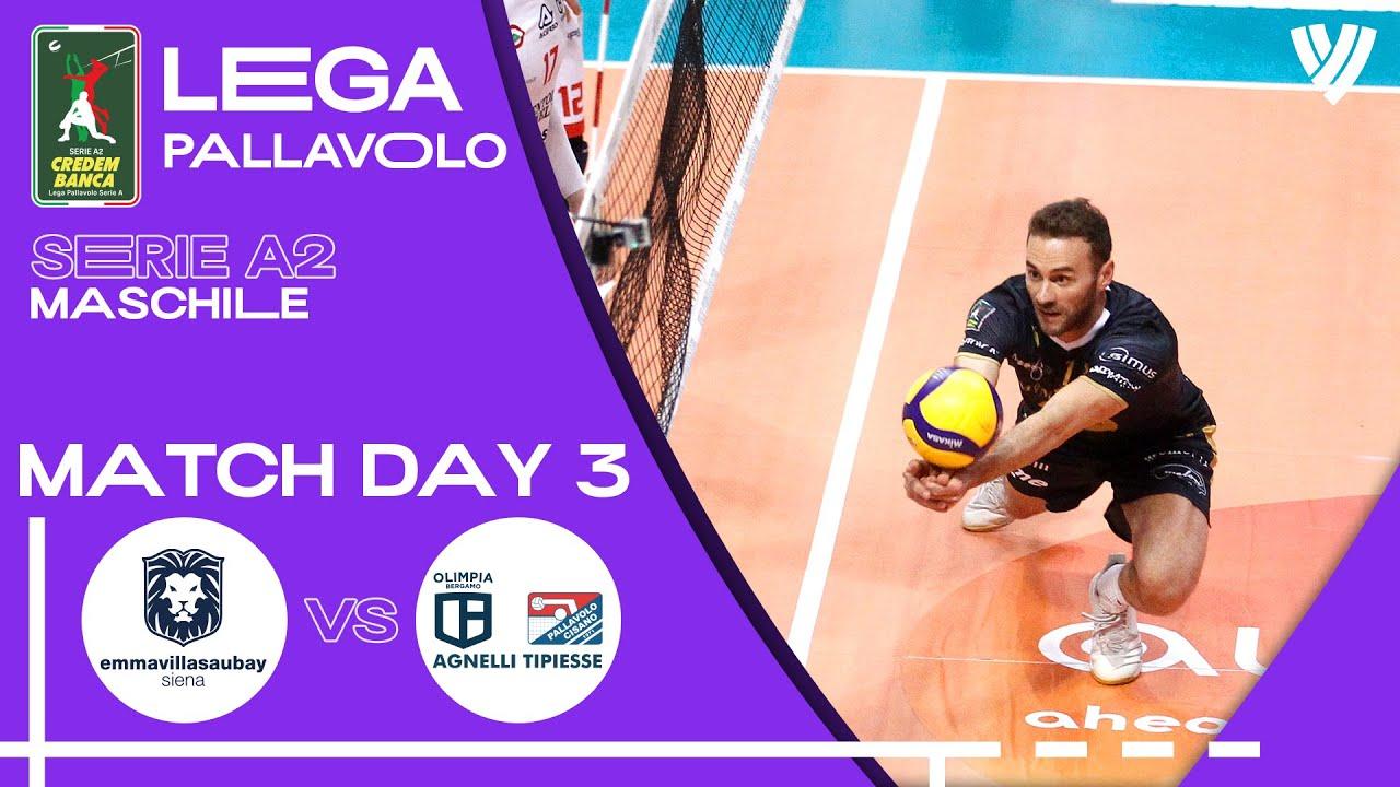 Download LIVE 🔴 Siena vs. Bergamo - Men's Serie A2 | 2021