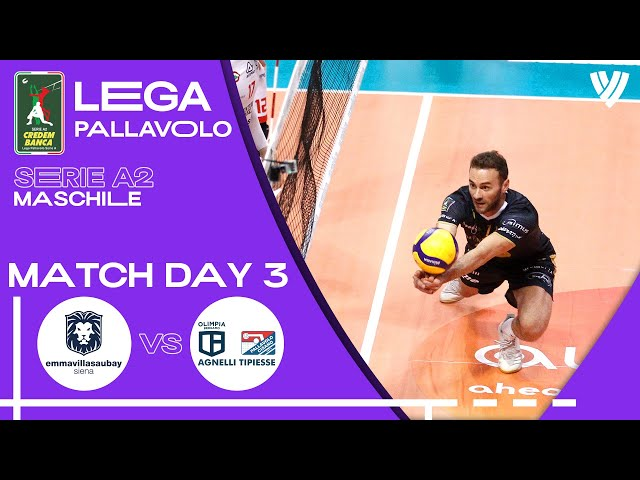LIVE 🔴 Siena vs. Bergamo - Men's Serie A2   2021