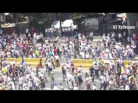 Venezuela: el testimonio de participantes de la marcha contado en primera persona