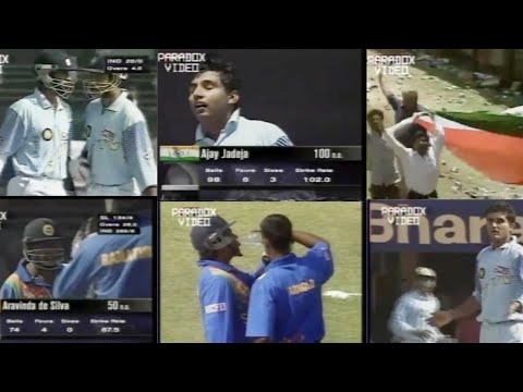INDIA vs SRI LANKA | PEPSI CUP | 5th Match | Pune ,1999