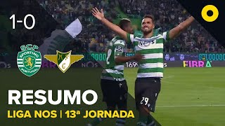 Sporting 1-0 Moreirense - Resumo   SPORT TV