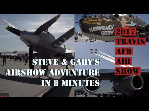 Steve & Gary's Air Show Adventure in 8 minutes.