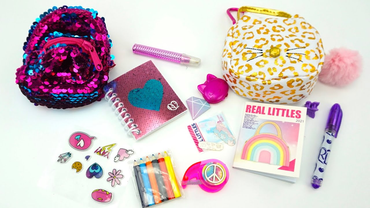 Рюкзачки и сумочки Real littles с сюрпризами внутри