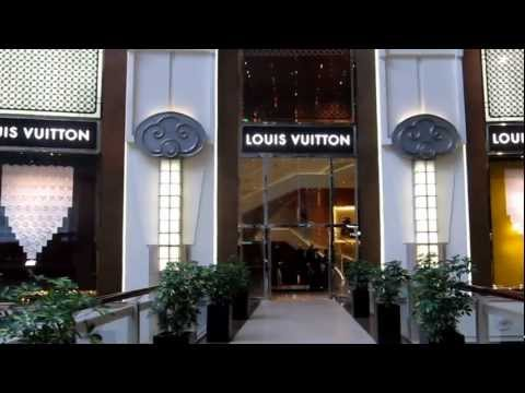 Louis Vuitton Indoor Store @ Taipei 101 Mall in Taiwan