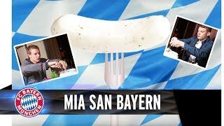 FC Bayern  The Bavarian Weißwurst  Mia san Bayern