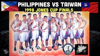 Philippines Centenial Team vs Taiwan 1998 Jones Cup Championship Game   Jam packed ang Venue!