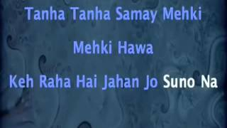 DIL NE TUMKO CHUN LIYA HAI KARAOKE WITH LYRICS