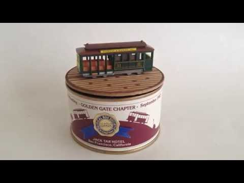 Musical Box Society International 1982 San Francisco Music Box