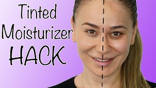 How To Make Tinted Moisturizer - Emergency Beauty Hack