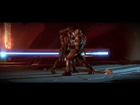 Halo Master chief vs Locke funny!