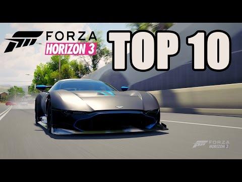 TOP 10 FORZA HORIZON 3 CAR SOUNDS!
