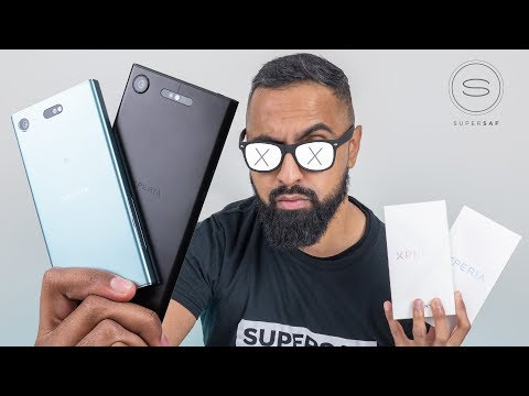 Download Youtube: Sony Xperia XZ1 & XZ1 Compact UNBOXING