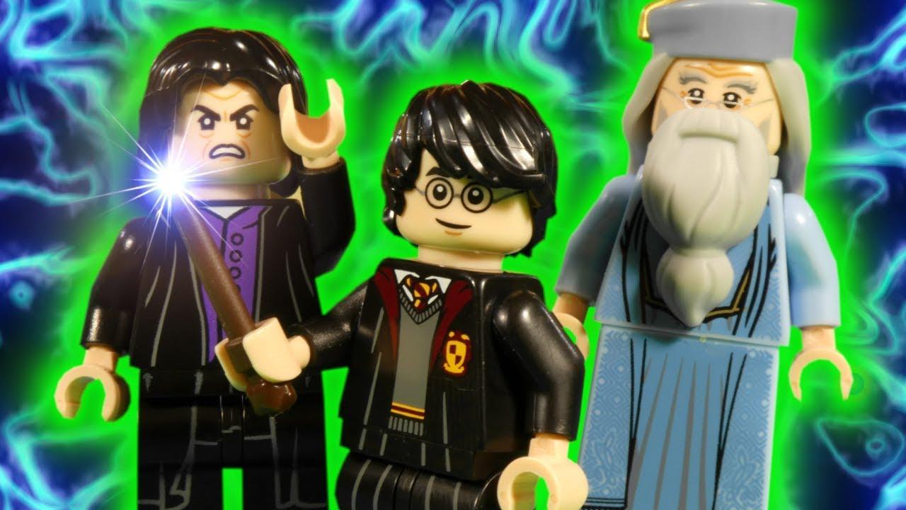 LEGO HARRY POTTER - MAGIC MISHAP PART 2 - WIZARDING WORLD STOP MOTION