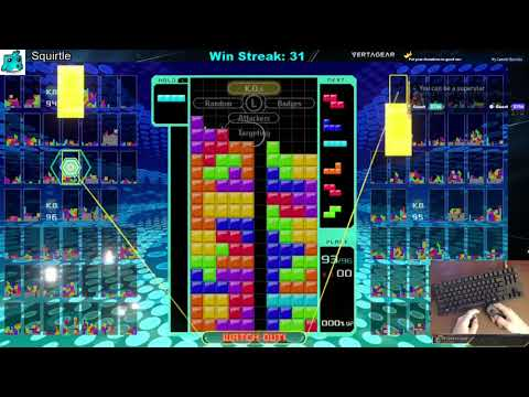 Tetris 99 - 40 Win Streak - 1995 Total Wins