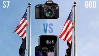 Samsung Galaxy S7 vs Canon 60D: Camera Comparison(Is the Galaxy S7 / S7 Edge better than a $1200 DSLR? Find out! Buy the S7 Edge: http://amzn.to/1Yt9z72 Buy the S7: http://amzn.to/1Yt9EaR Galaxy S7 ..., 2016-03-09T22:23:15.000Z)