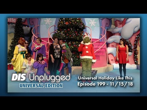 Universal Orlando Holiday Preview | Universal Edition | 11/15/18