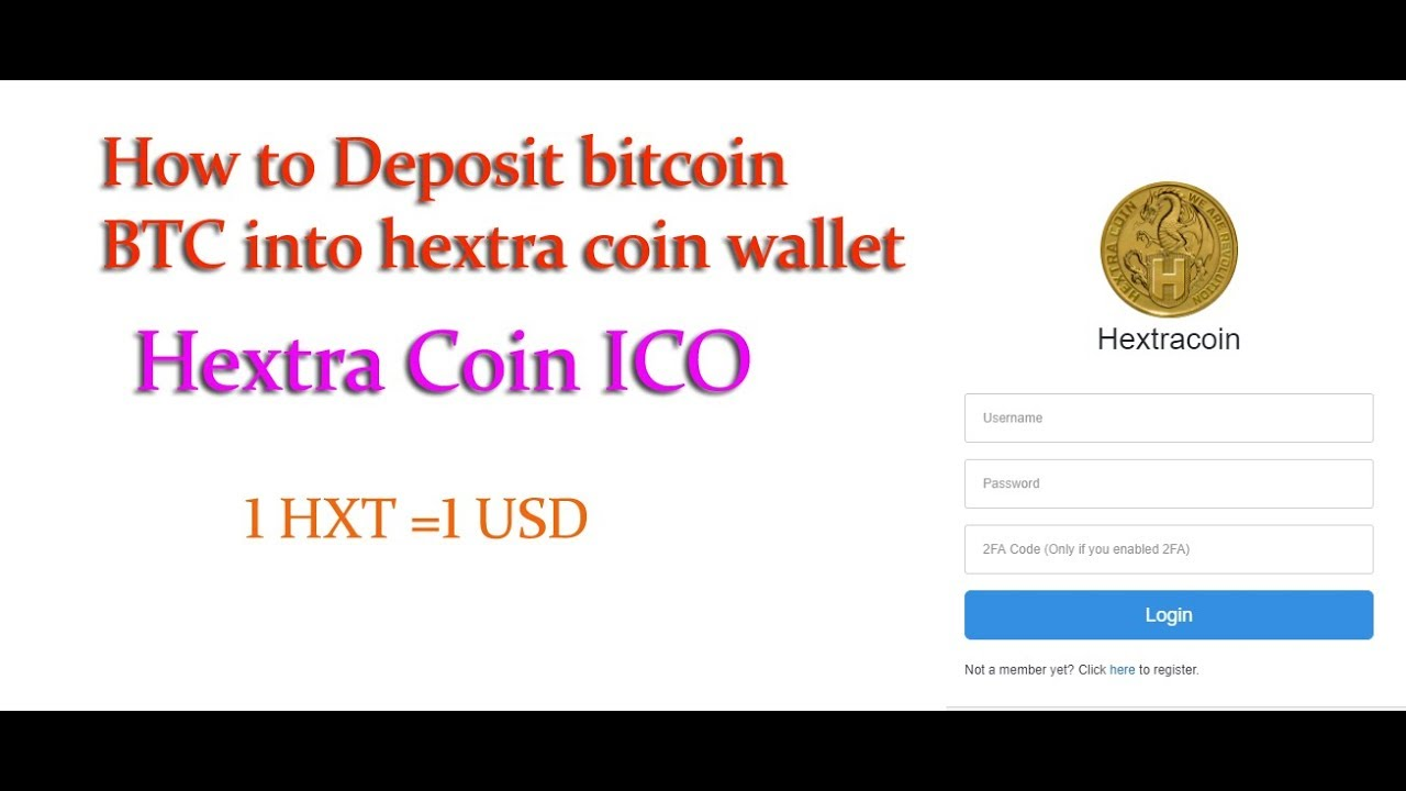 how to get commision hextra coin