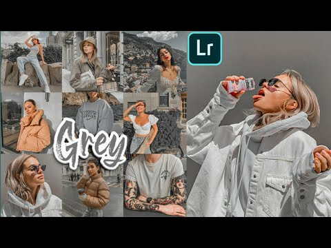 Lightroom Mobile Presets Free Dng Xmp | Free Lightroom Mobile Preset Grey Tone Tutorial| GREY (2019)