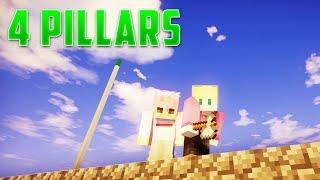 Dude Perfect 4 Pillars Challenge In Minecraft