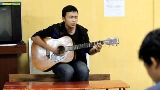 Thời Gian - Thành viên CLB Guitar Kiến trúc Hà Nội
