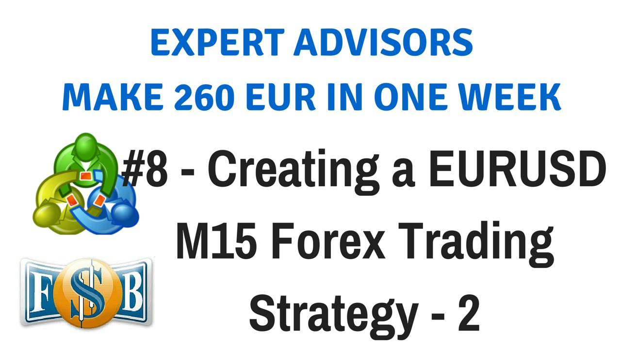 Forex advisor strategy builder