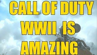 Call of Duty WW2 is Amazing