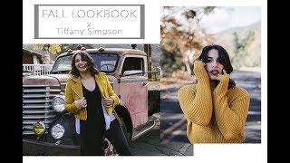 FALL LOOKBOOK 2017 X Tiffany Simpson