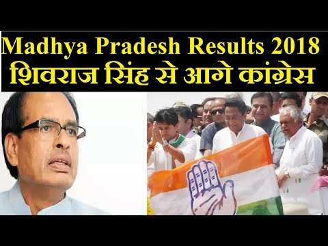 Madhya Pradesh Election Results 2018: Congress Leads in the state; Shivraj Singh Chauhan Trails