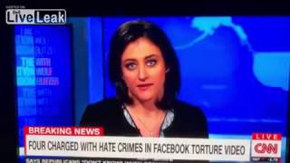 CNN REPORTER LAUGHS DURING CHICAGO HATE CRIME REPORT