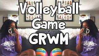 Volleyball Game GRWM ⎮Volleyball Game Vlog