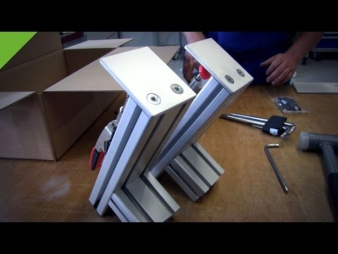 Joystick / HOTAS Table Mount - First Production Model - Aluminum