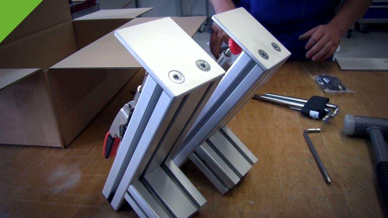 Joystick Hotas Table Mount First Production Model