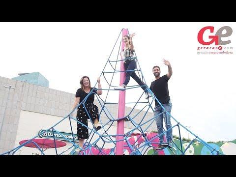 Parque temático infantil fixo abre em Porto Alegre. A atração é gratuita e fica aberta durante o horário de funcionamento do shopping.