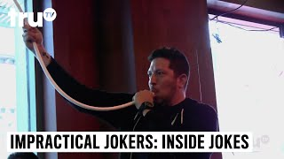 Impractical Jokers: Inside Jokes - Sal's Ten-Foot Straw | truTV