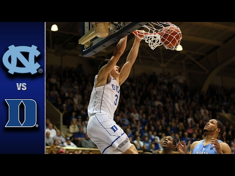 North Carolina vs. Duke Men's Basketball Highlights (2016-17)