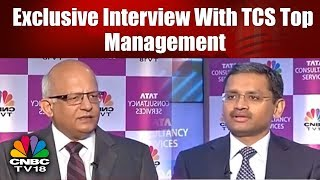 Exclusive Interview With TCS Top Management | TCS Q4 Results | CNBC TV18