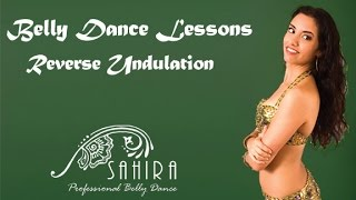 Belly Dance Lessons - Reverse Undulation