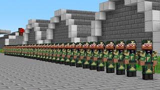 Я забрал 100 игроков в АРМИЮ