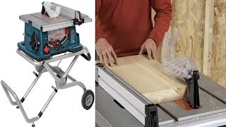 Bosch 4100-09 10 Inch Worksite A Portable & High Performing Table Saw With Gravity Rise Stand