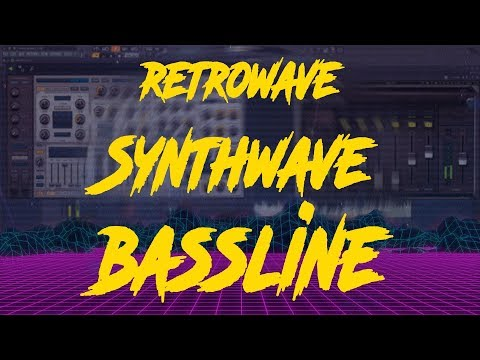 How to make Synthwave Bassline Free flp  Project Download by