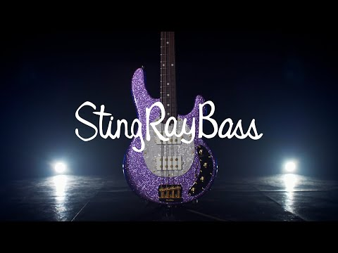 Ernie Ball Music Man Minute: StingRay Special Amethyst Sparkle (ft. Ben Kenney)