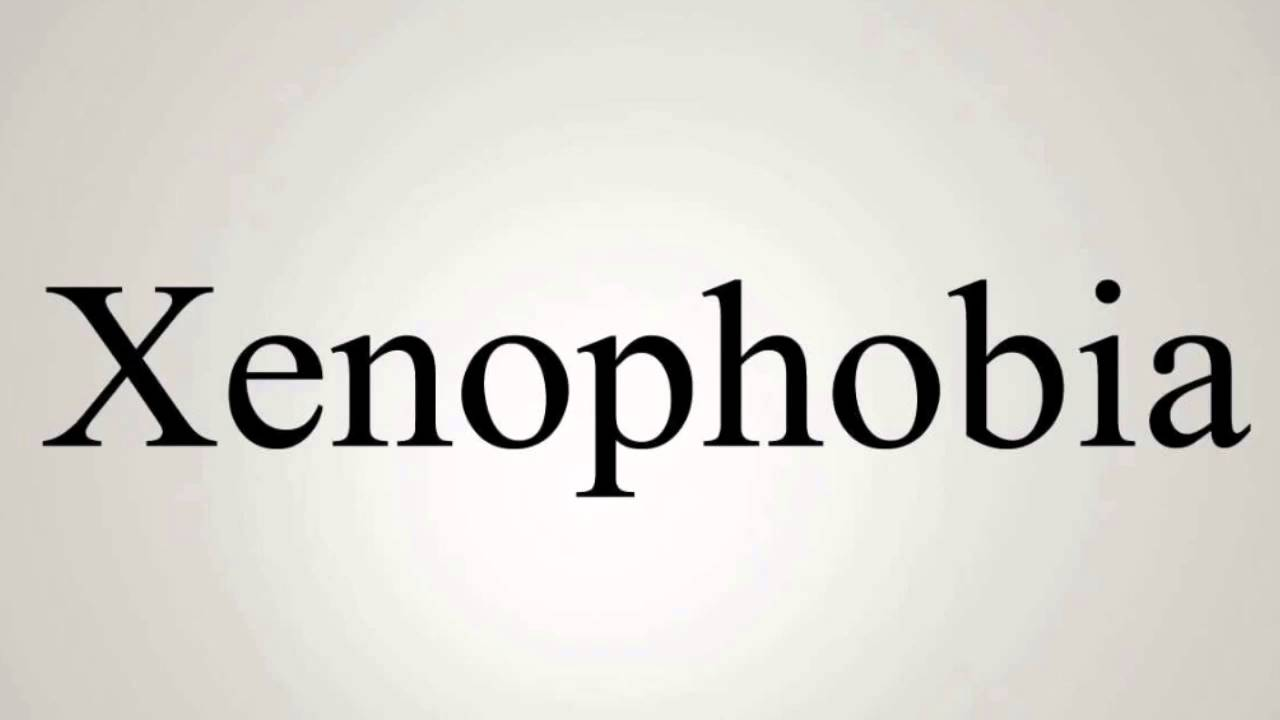 Xenophobia is what the meaning and definition of a word is 3