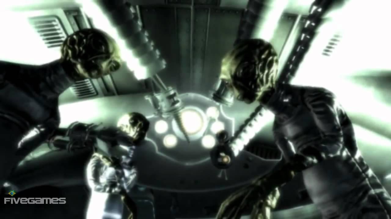 fallout 3 alien robots video youtube