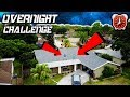 24 HOUR OVERNIGHT CHALLENGE ON THE ROOF.