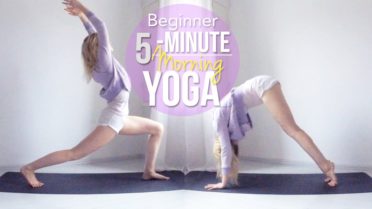 5-Minute Morning Yoga // Beginner