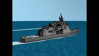 海上自衛隊 あたご型ミサイル護衛艦 JMSDF ATAGO-class destroyer